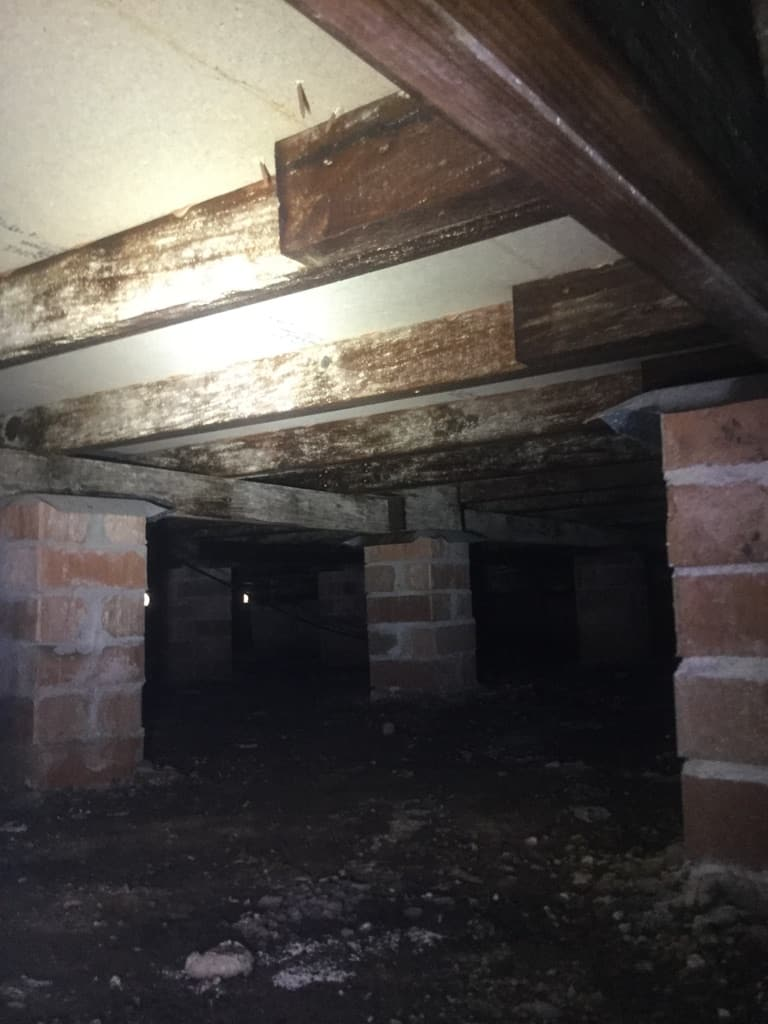 ventilation problems under the house