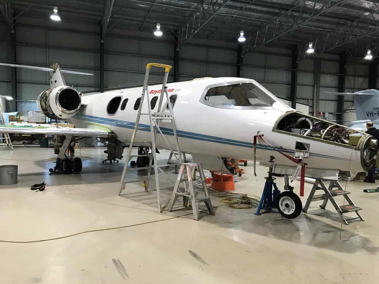 Asbestos in aircraft